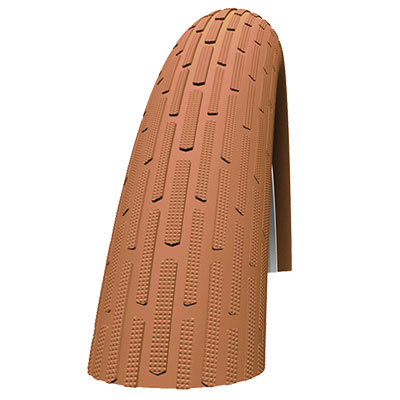 Schwalbe Fat Frank Kevlar Guard Wired, Brown, 26 X 2.35-Inch