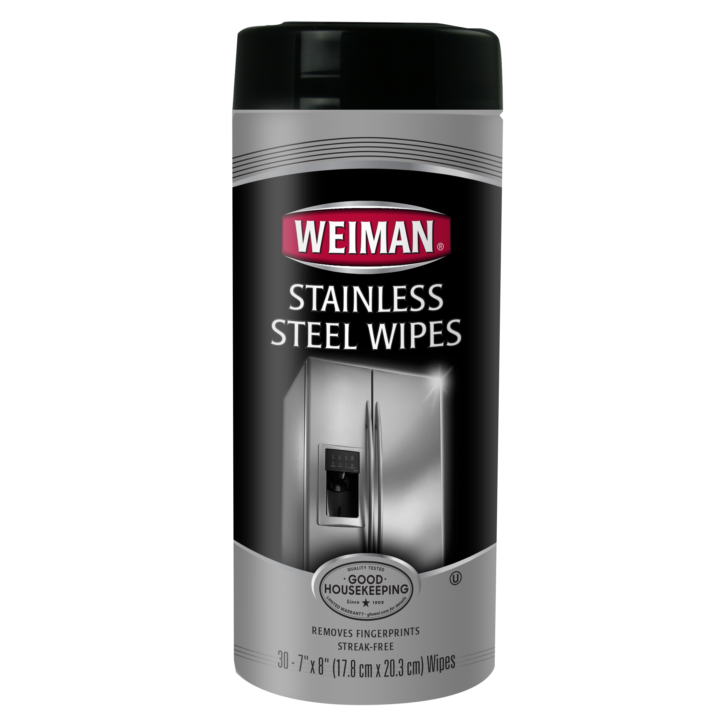 Weiman Stainless Steel Wipes, 30ct