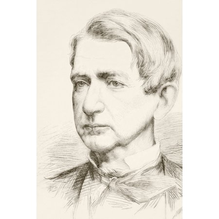 William Henry Seward Sr 1801 To 1872 American Politician And Secretary Of State Under Abraham Lincoln And Andrew Johnson From A 19Th Century Illustration Posterprint