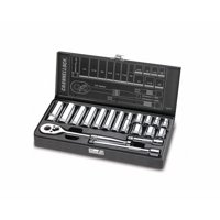Channellock CHA38181 Fractional 18-Piece 3/8-Inch Drive Socket Set