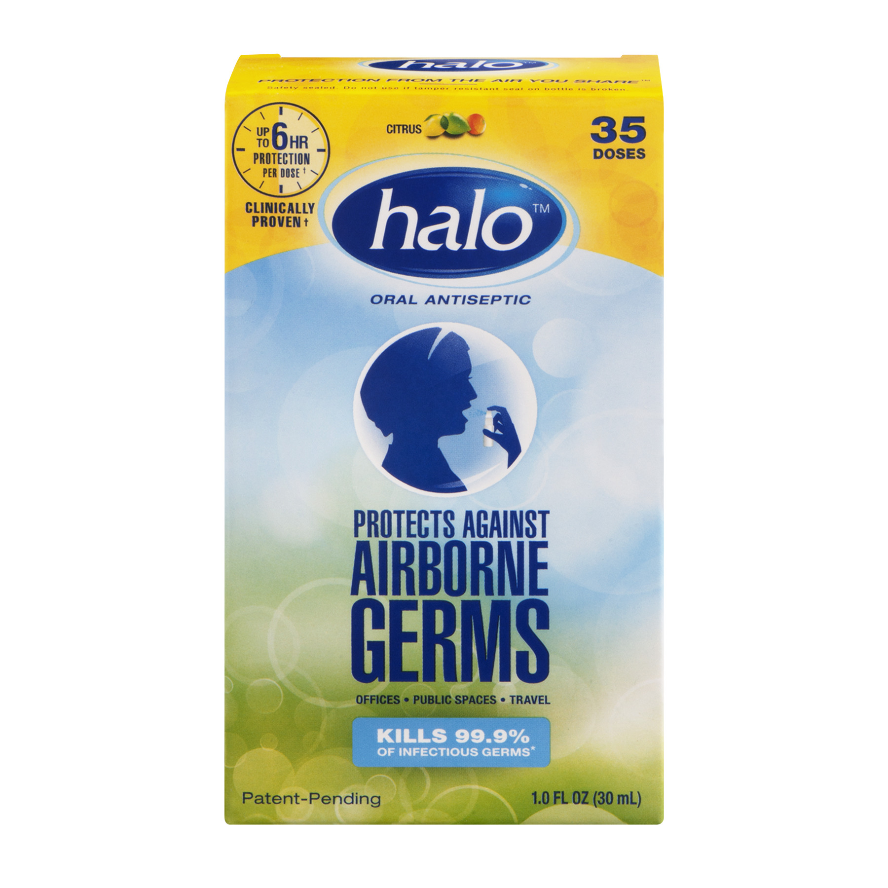 Oasis Consumer Healthcare Halo  Oral Antiseptic, 1 oz