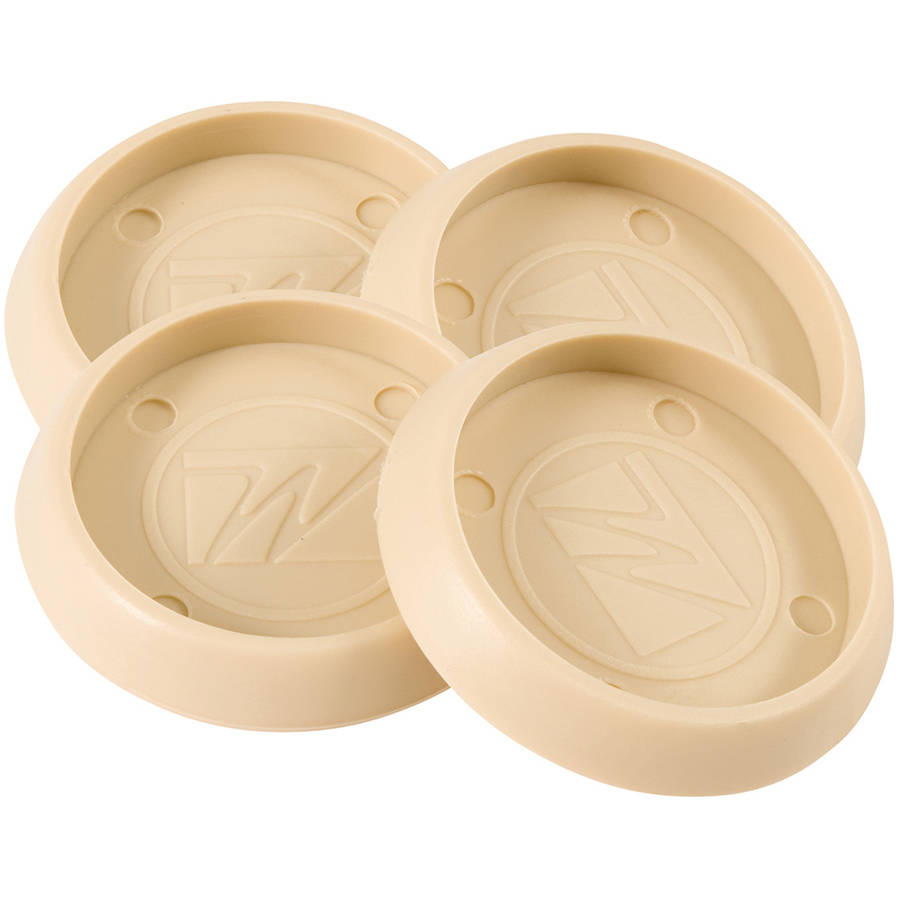 """Waxman Consumer Group 4652895N 1-3/4"""" Almond Round Caster Cups, 4 Count"""