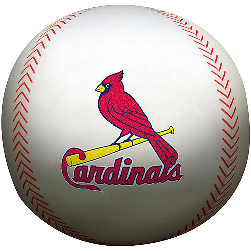 "MLB St. Louis Cardinals 12"" Baseball Pillow"