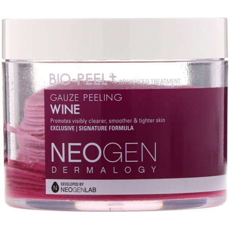Neogen  Bio-Peel  Gauze Peeling  Wine  30 Count  6 76 fl oz  200 ml ()