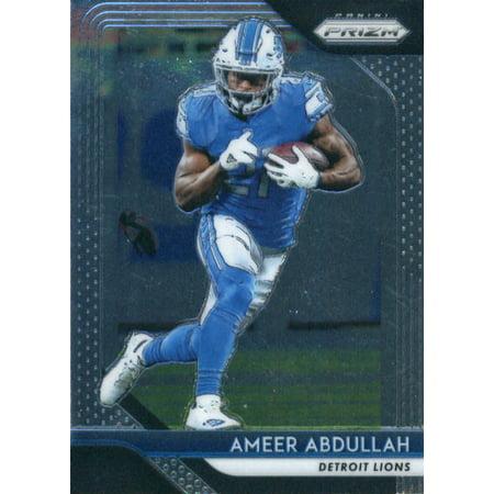 2018 Panini Prizm #135 Ameer Abdullah Detroit Lions Football Card](Ameer Abdullah Halloween)