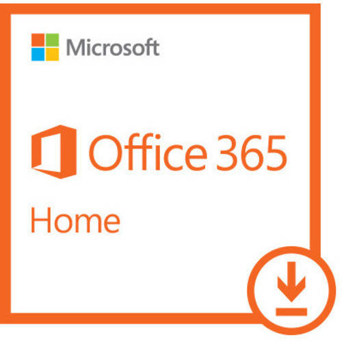 Microsoft Office 365 Home- 5 PCs/Macs + 5 Tablets/iPads, 1-year subscription (Digital Code)