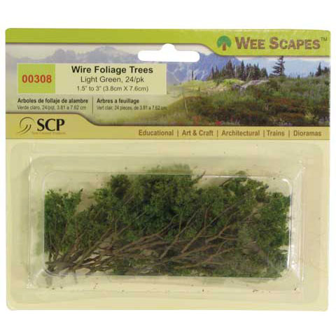 Wee Scapes Architectural Model Dry Leaf Tree (Set of 24)