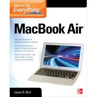 How to Do Everything: How to Do Everything Macbook Air (Paperback)