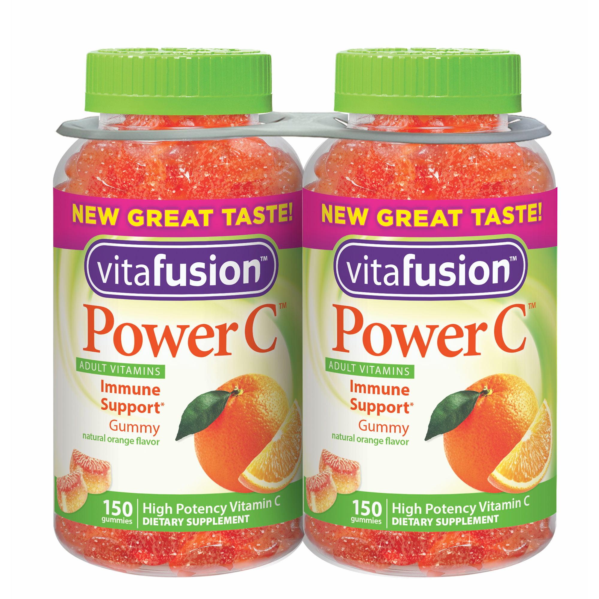 Vitafusion Power C Gummy Vitamin, 2 pk./150 ct.