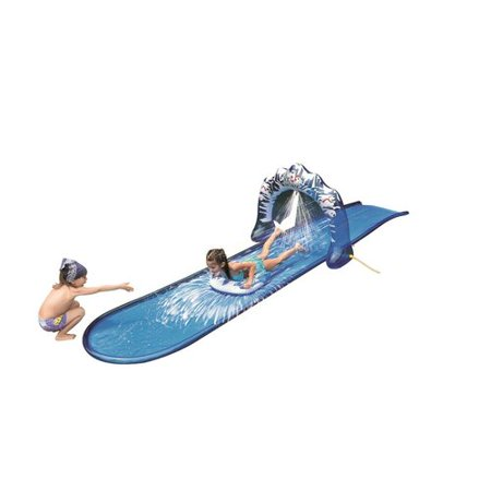 Northlight Seasonal Ice Breaker Inflatable Ground Level Water Slide for 3' (Best Inflatable Water Slide For Adults)