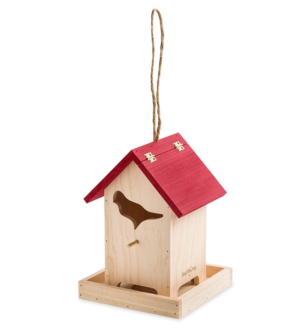Songbird Backyard Bird Feeder with Field Guide - Walmart ...