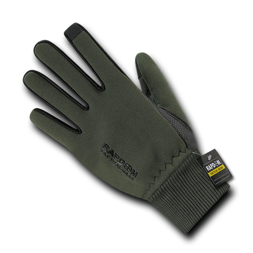 Rapid Dominance T45 Neoprene Gloves With Cuff-Olive Dr-S by Rapid Dominance