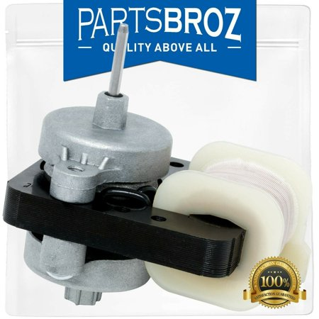 W10189703 Refrigerator & Freezers Evaporator Fan Motor Replacement Part for Whirlpool Maytag Refrigerators Maytag Replacement Parts