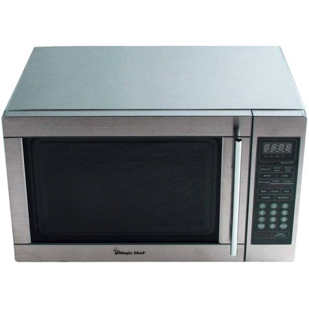 Magic Chef 1.3 cu ft Microwave, Stainless Steel