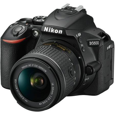 Nikon D5600 DSLR Camera w/ AF-P 18-55mm VR Lens 1576