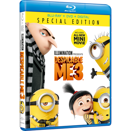 Despicable Me 3 (Special Edition) (Blu-ray + DVD + Digital HD)](Edith Despicable Me)