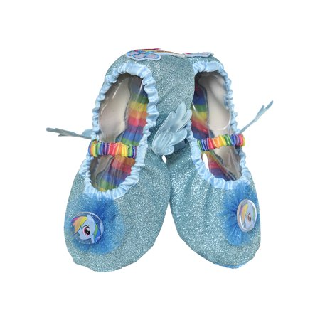 My Little Pony Rainbow Dash Slipper Shoes for Children, Up to Size 7 to