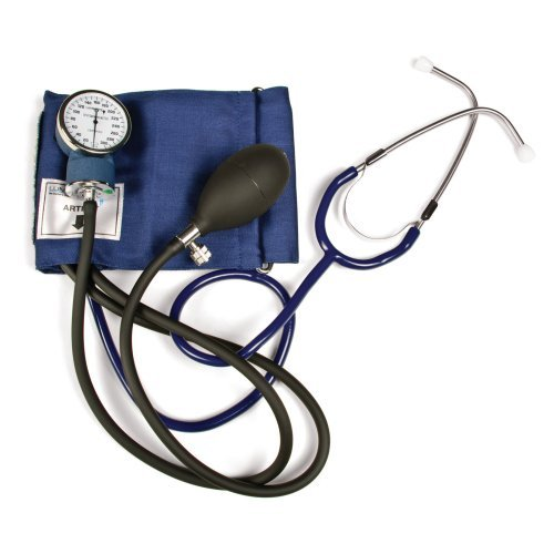 Self-Taking Blood Pressure Kit With Attached Stethoscope, By Lumiscope - 1 Ea