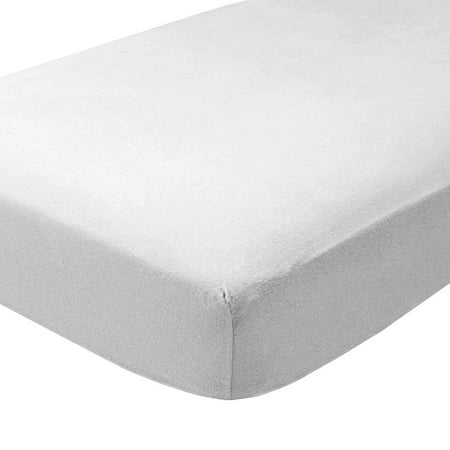bad735224002 Fitted Bottom Sheet 100% Cotton Velvet Flannel - Extra Soft Heavweight - Double  Brushed Flannel - Deep Pocket (Queen, White) - Walmart.com