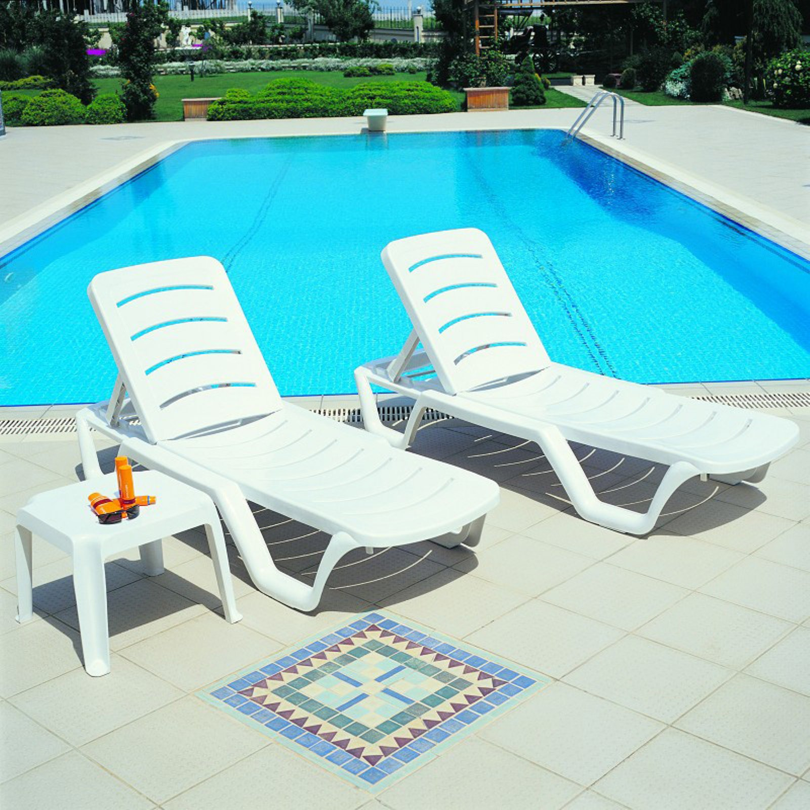 Compamia Sunlight Pool Chaise Lounge - Set of 4