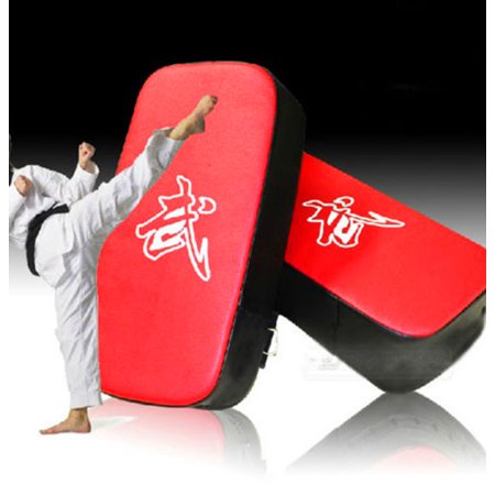 - MMA Rectangle Focus Leather Adult Boxing Kick Shield Punching Thai Kick Punching Pad Target Pro Muay Thai Pad Training Gym