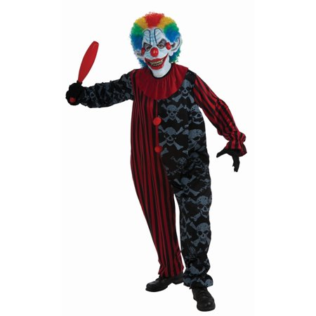 Halloween Creepo The Clown Adult Costume - Bad Clown Costume