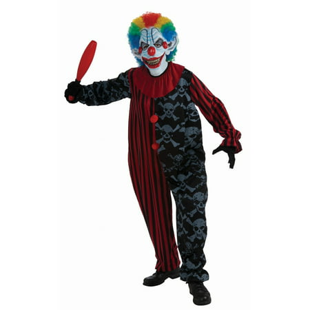 Halloween Creepo The Clown Adult Costume](Killer Clown Costumes For Adults)