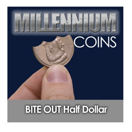 Millennium Coins Bite Out Half Dollar By Mak Magic