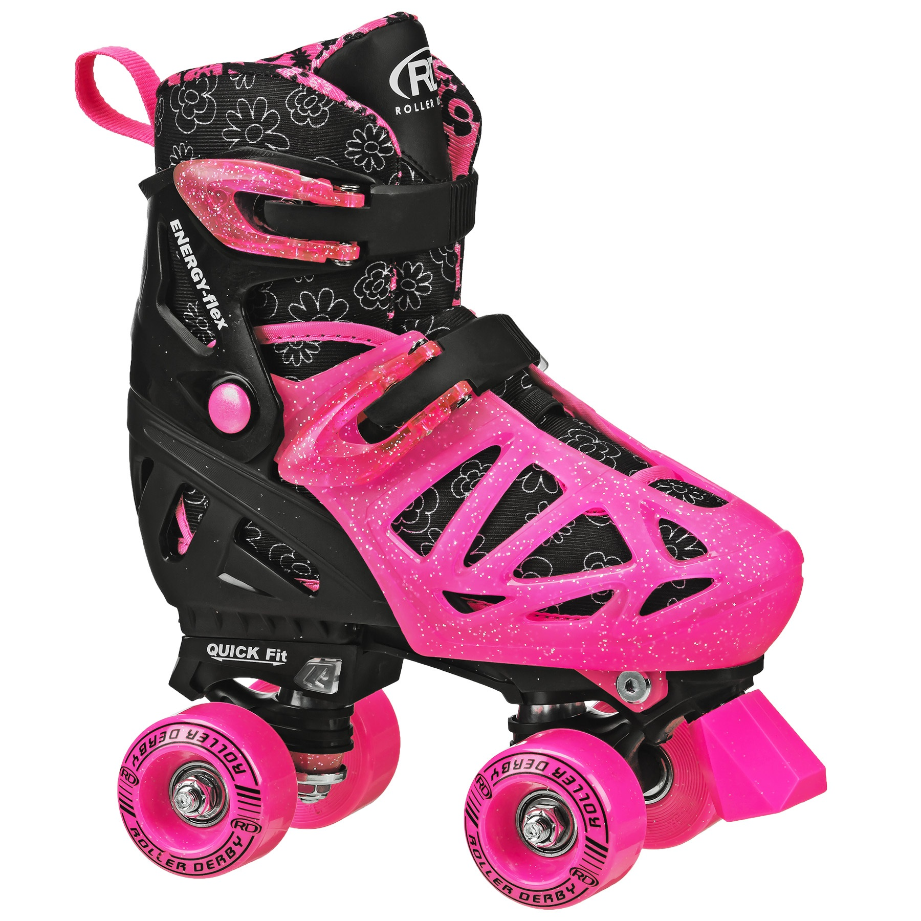 Roller Derby Rd Quad Girl M Sz 3-6