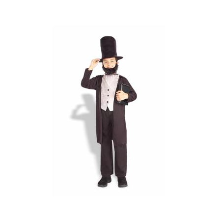 Abraham Lincoln Kids Costume (CO-CHILD-ABE LINCOLN-MEDIUM)