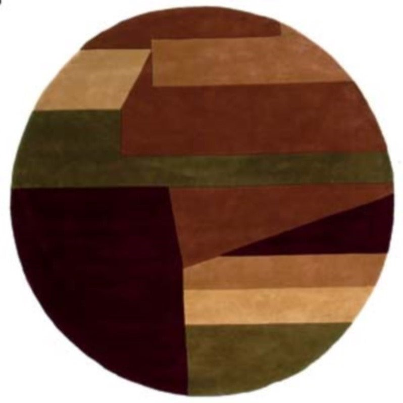 "Momeni New Wave 2'6"" X 12' Runner Rug in Wine - image 2 of 4"