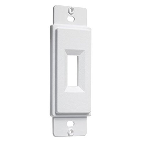 Taymac AD40W Paintable Toggle Switch Adapter Plate- White