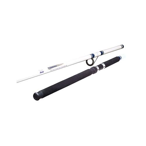 Okuma Tundra Saltwater Spinning Rod 10' Length, 2pc, 10-25 lb Line Rate, 3/4-2.5 oz Lure Rate, Medium/Heavy Power