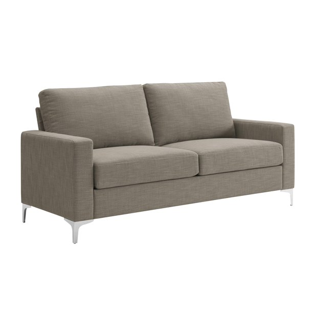 Dorel Living Mila Sofa, Taupe