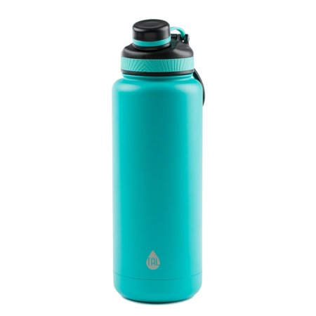 Tal 40 Ounce Double Wall Vacuum Insulated Stainless Steel Ranger Pro Water Bottle, Teal
