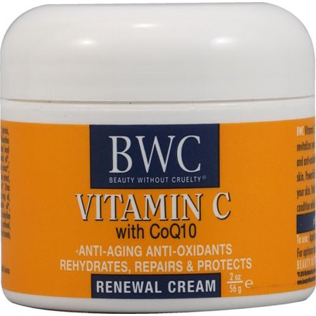 Beauty without Cruelty Renewal Cream Vitamin C with Coq10, 2