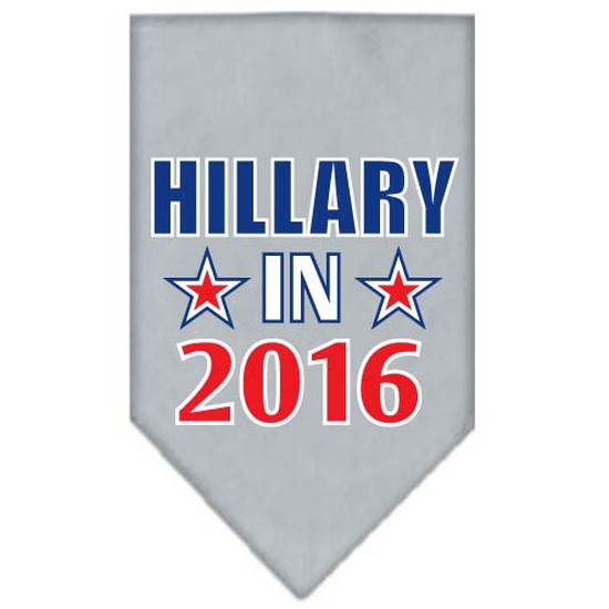 Mirage 66-146 SMGY Hillary in 2016 Election Pet Bandanas Grey Small