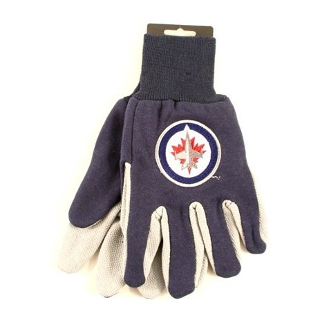 NHL Licensed Sport Utility Work Gloves (Winnipeg Jets)