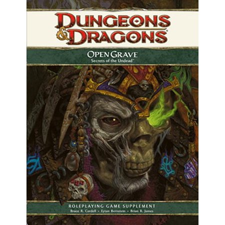 Dungeons & Dragons D&D 4th Edition Open Grave: Secrets of the Undead - Fourth Grade Halloween Crafts