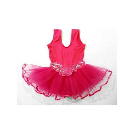 d13a0c79e Wenchoice - Pink Butterfly Tutu Ballet Dress Toddler Girl M ...
