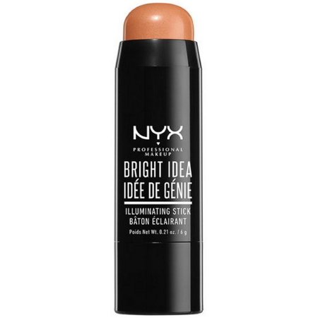 Angel Makeup Ideas (3 Pack - NYX Professional Makeup Bright Idea Stick, Bermuda Bronze 0.21)