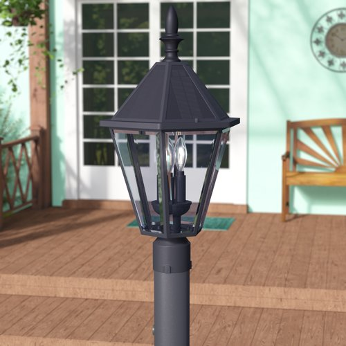 Darby Home Co Crisler Solar 3-Light LED Lantern Head
