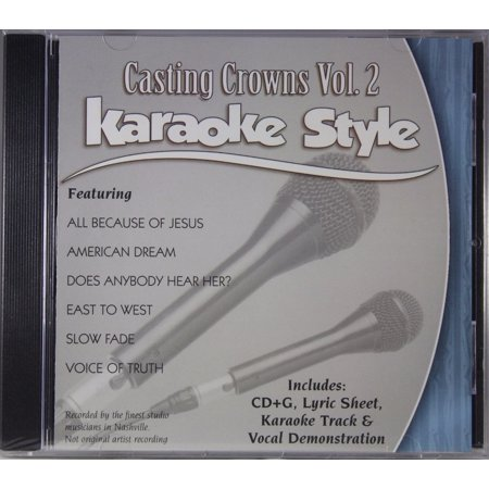 Casting Crowns Volume 2 Daywind Christian Karaoke Style NEW CD+G 6 Songs ()