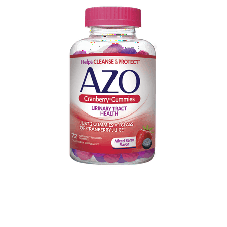 AZO Cranberry Gummies, 72 Ct (Gummy Bugs)