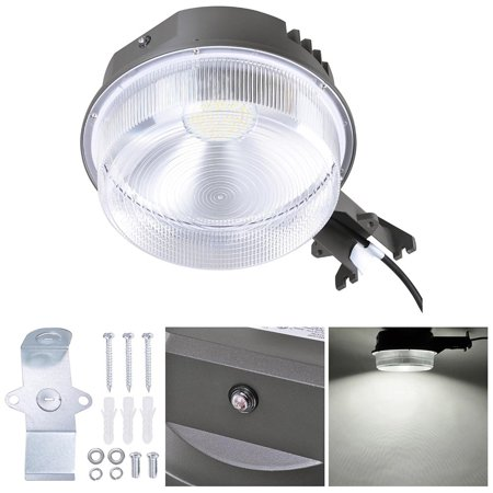 Zimtown 70W LED Security Street Wall Lamp Replace 350W Incandescent lamp ,Great for Garages, Warehouses, Backyards, Porches, Barns