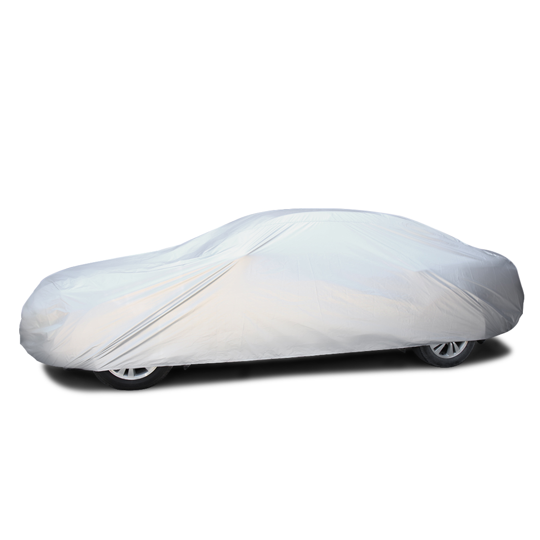 S 190T Silver Tone Pickup Auto Car Cover Ice Frost Resistant Breathable Scratch Waterproof Dustproof UV Heat Block - image 4 of 5