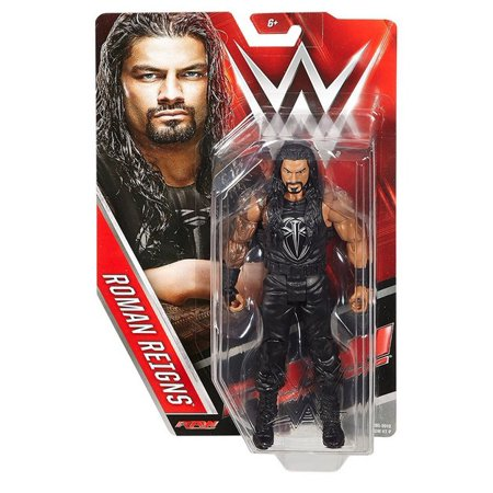 WWE Raw Roman Reigns Basic Mattel WWF Action