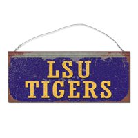960302cafc7ce Product Image Louisiana State University Tigers Small Tin Sign