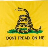 Jetlifee 3x5 Foot Don't Tread on Me Gadsden Flag by US Veterans Owned Biz. 100D Tea Party Flags Polyester with Brass Grommets 3 X 5 Ft