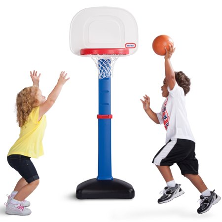 Little Tikes TotSports Easy Score Toy Basketball Set (2 Yr Old Toys)